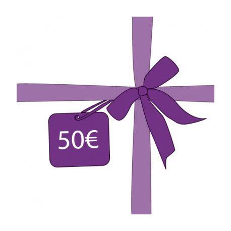cheque cadeau bon d 39 achat de 50 euros id e cadeau. Black Bedroom Furniture Sets. Home Design Ideas