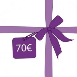 Chèque cadeau 70 €
