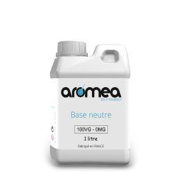 Base 100%VG 1 litre - AROMEA