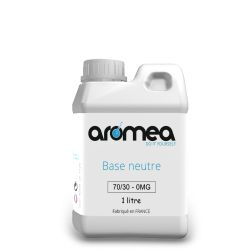 Base 70%PG / 30%VG 1 Litre - AROMEA