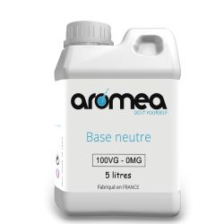 Base 100%VG 5 litres - AROMEA
