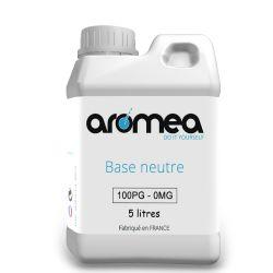 Base 100%PG 5 Litres - AROMEA