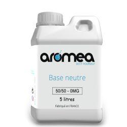 Base 50%PG / 50%VG 5 Litres - AROMEA