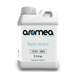 Base 70%PG / 30%VG 5 litres - AROMEA