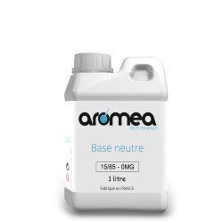 Base 15%PG / 85%VG 1 litre - AROMEA