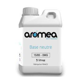 Base 15%PG / 85%VG 5 litres - AROMEA
